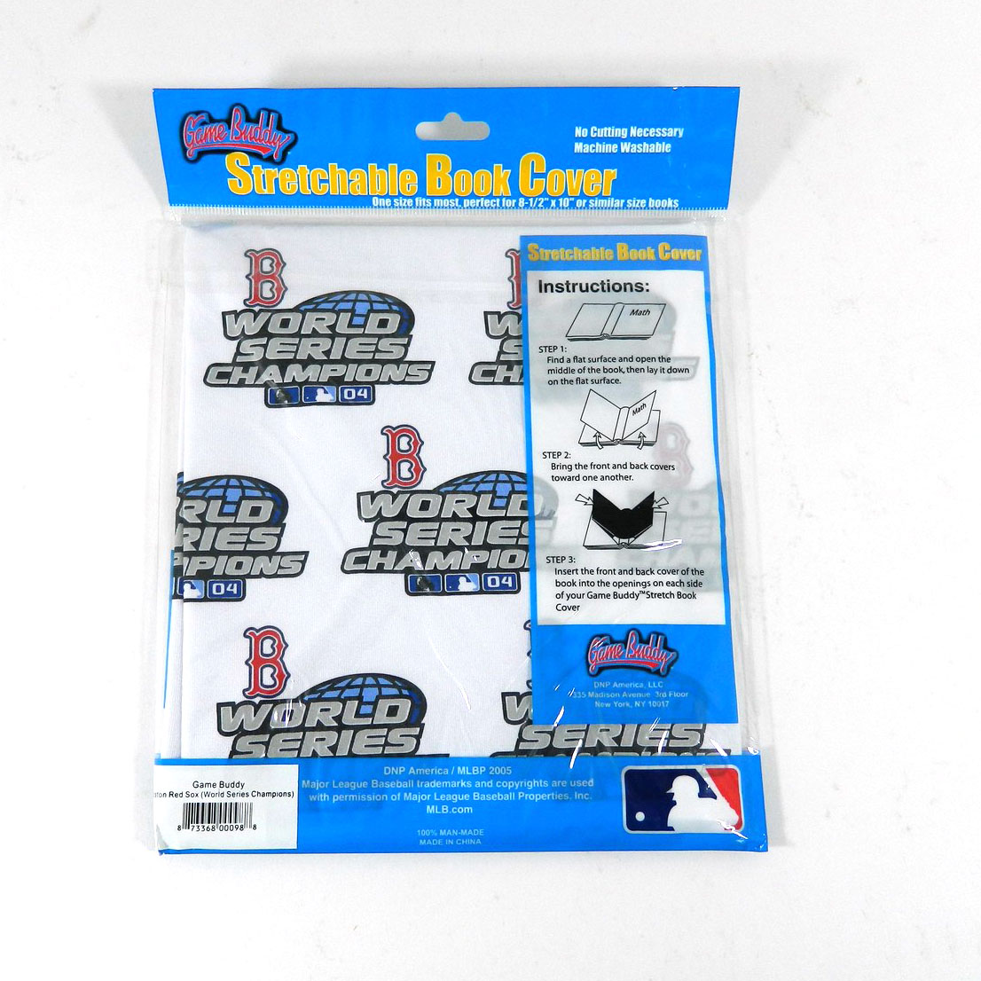 Book Cover Series Hub : Boston red sox stretchable book cover world series