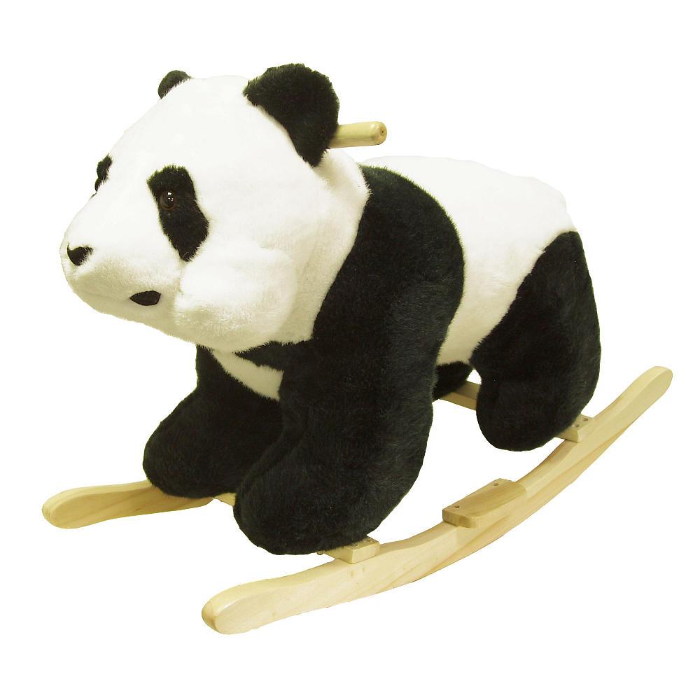 Plush Panda Baby Rocking Chair Kids Toy Ride Rocker Plush Toddler