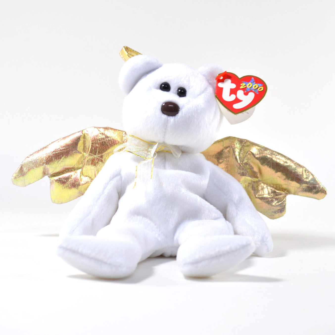 Details about Vintage TY Beanie Baby  Halo II  D.O.B. January 14 b36ee81bf738