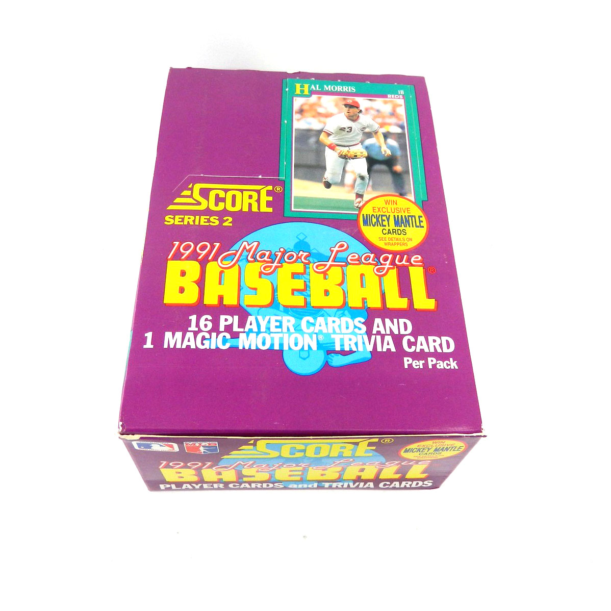 Details About 1991 Score Baseball Series 2 Trading Card Box 36 Pack