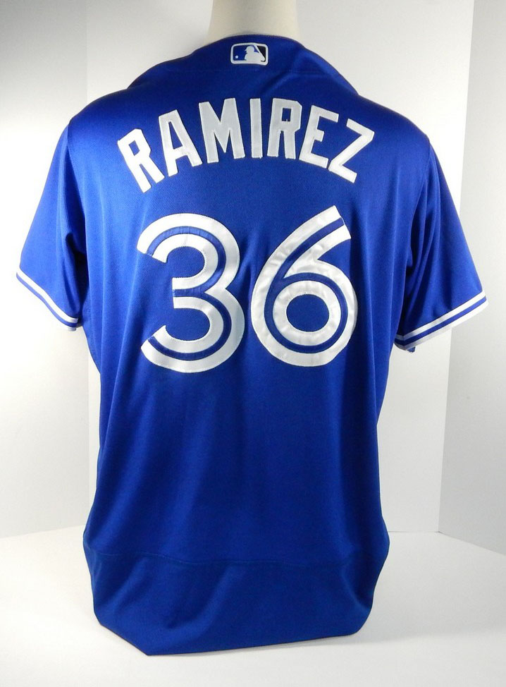 Image is loading 2017-Toronto-Blue-Jays-Neil-Ramirez-36-Game-