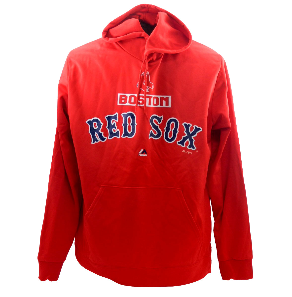 promo code 7e926 a0ffa Majestic Men's Boston Red Sox Pullover Hoodie Red Sweatshirt ...
