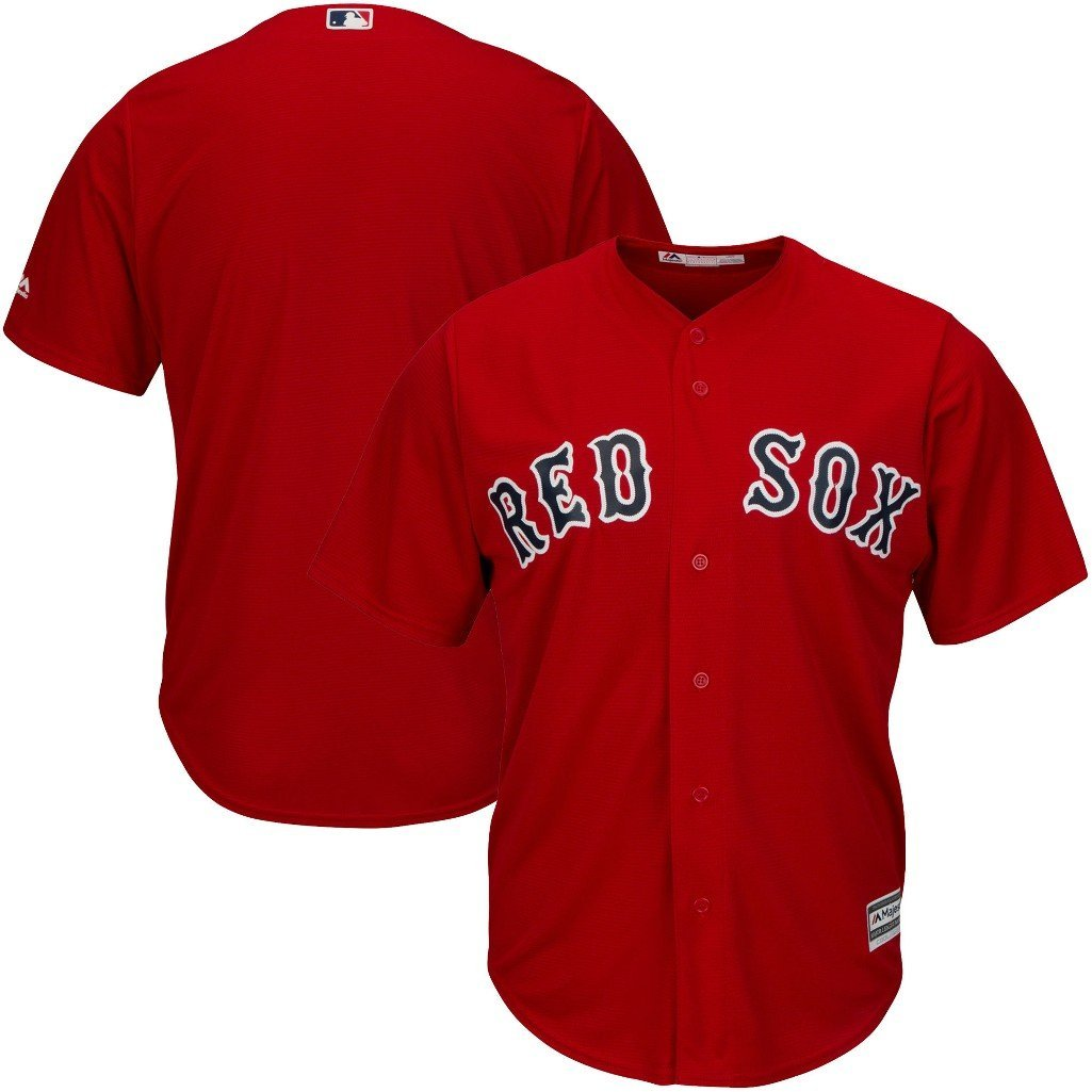 7d512d7a Boston Red Sox Men's MLB Majestic Cool Base Jersey Size: Child's Small. The  Authentic COOL BASE Batting Practice ...