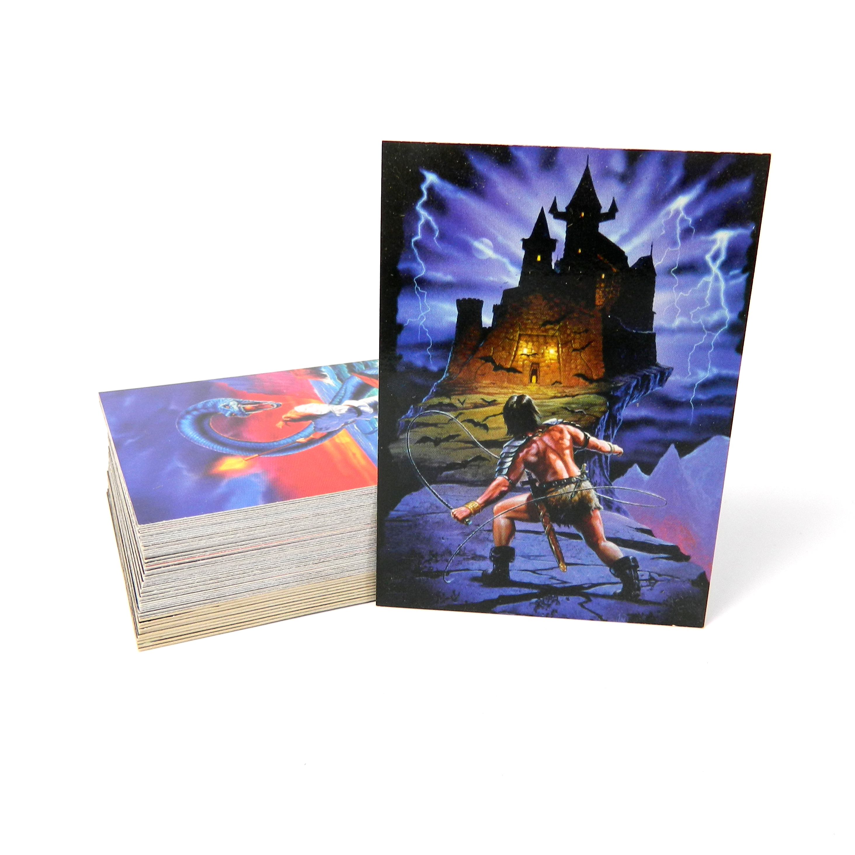 Complete Card Set w/ TEKCHROME SET Cardz/1994 THE FANTASY ART OF LEE MacLEOD