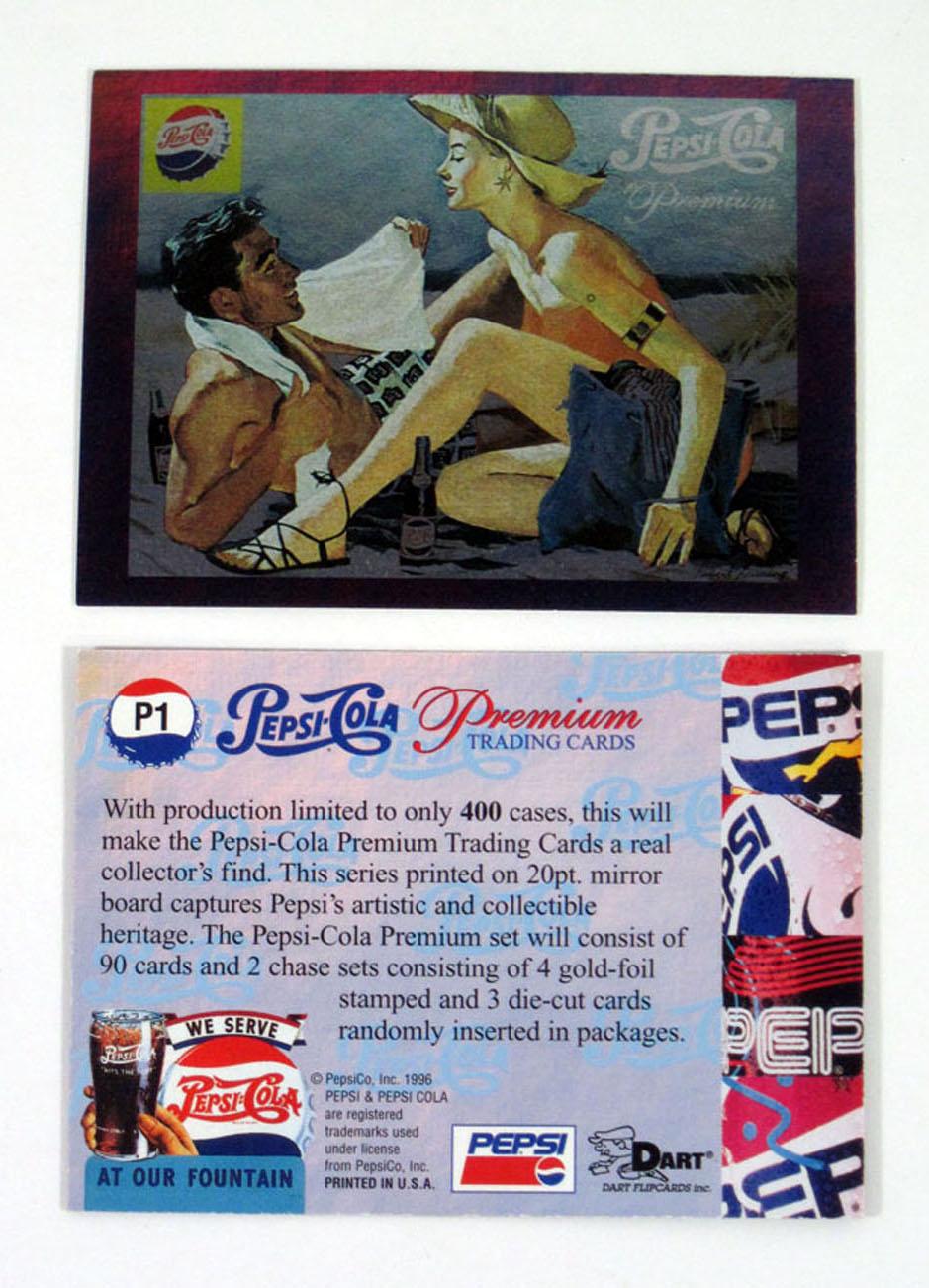 Lot of 1996 Dart Flipcards Pepsi-Cola Premium Die-Cut Card Set 5 3 Nm//Mt
