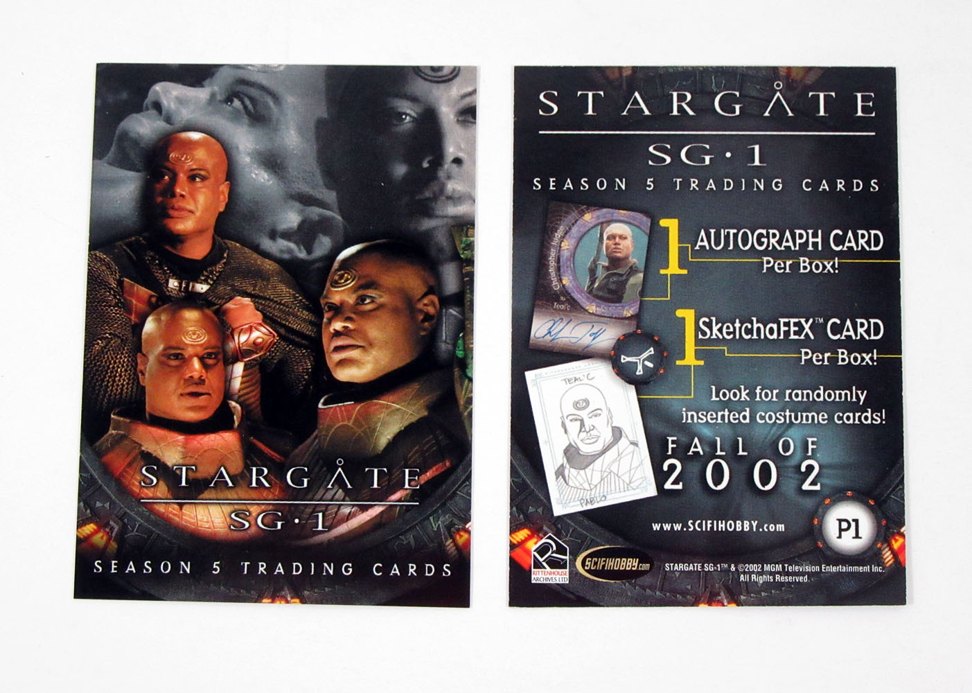 Stargate SG1 Season 5 Bobblehead Mail In Promo Card