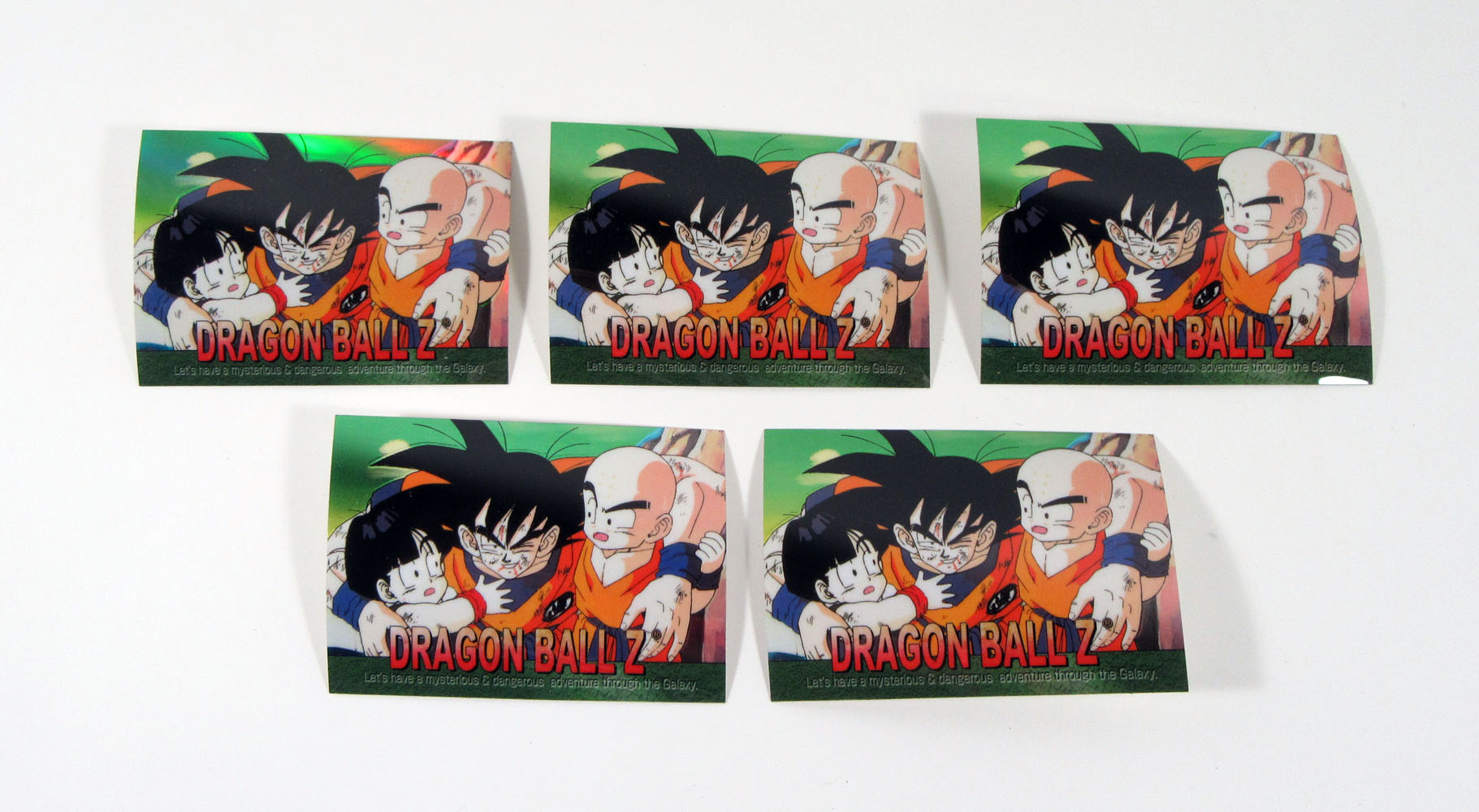 6 lot of 2000 Dragonball Z Complete Perfect  Set of Silver /& Holochrome card etc
