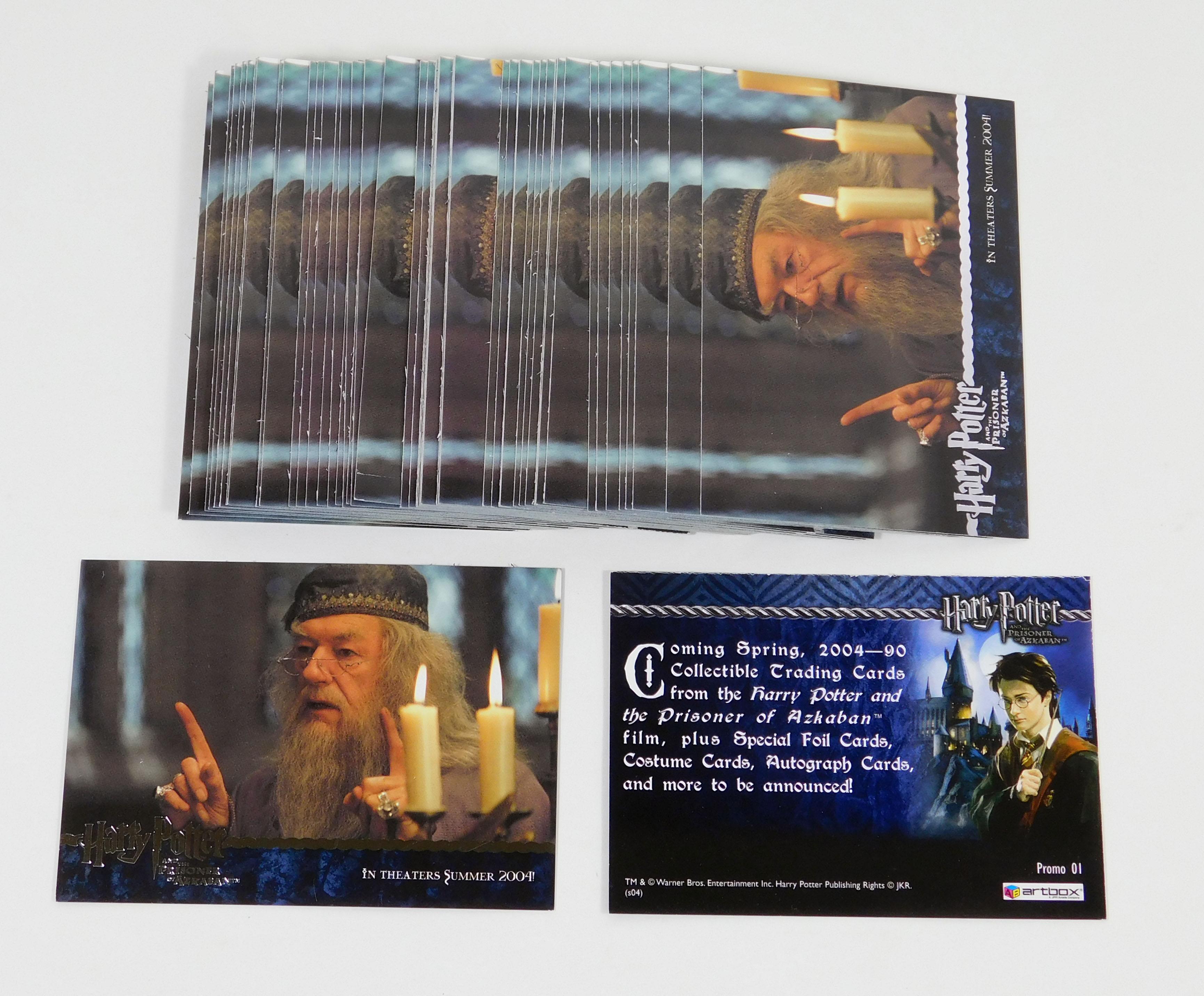 HARRY POTTER THE PRISONER OF AZKABAN PROMO CARD  ARTBOX