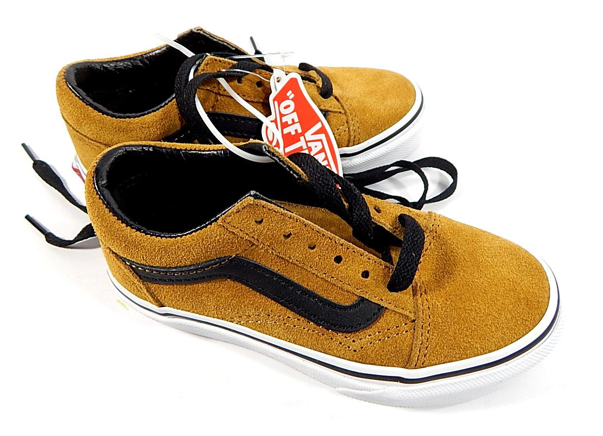 Vans Old Skool Suede Kids Shoes Cumin