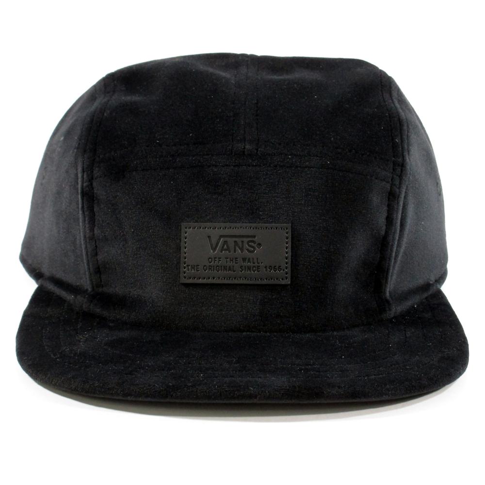0e6940f557f Vans off the wall lewis panel velvet hat o adjustable velour cap black nwt  jpg 1000x1000