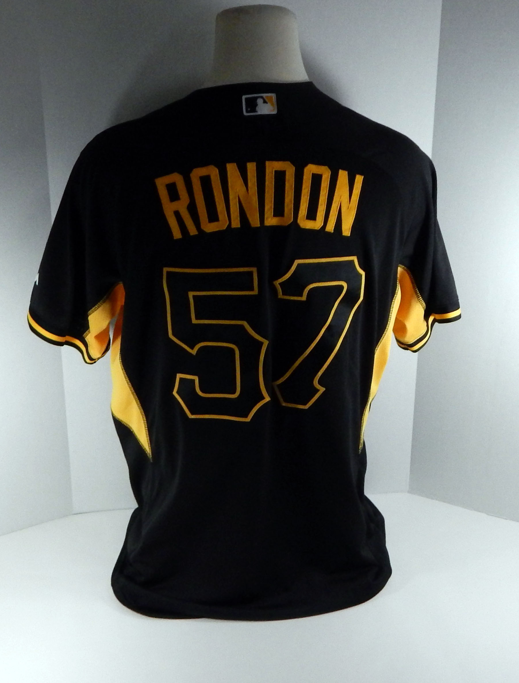 uk availability eb3ab 14ccd Details about 2017 Pittsburgh Pirates Jorge Rondon #57 Game Issued Spring  Training Jersey