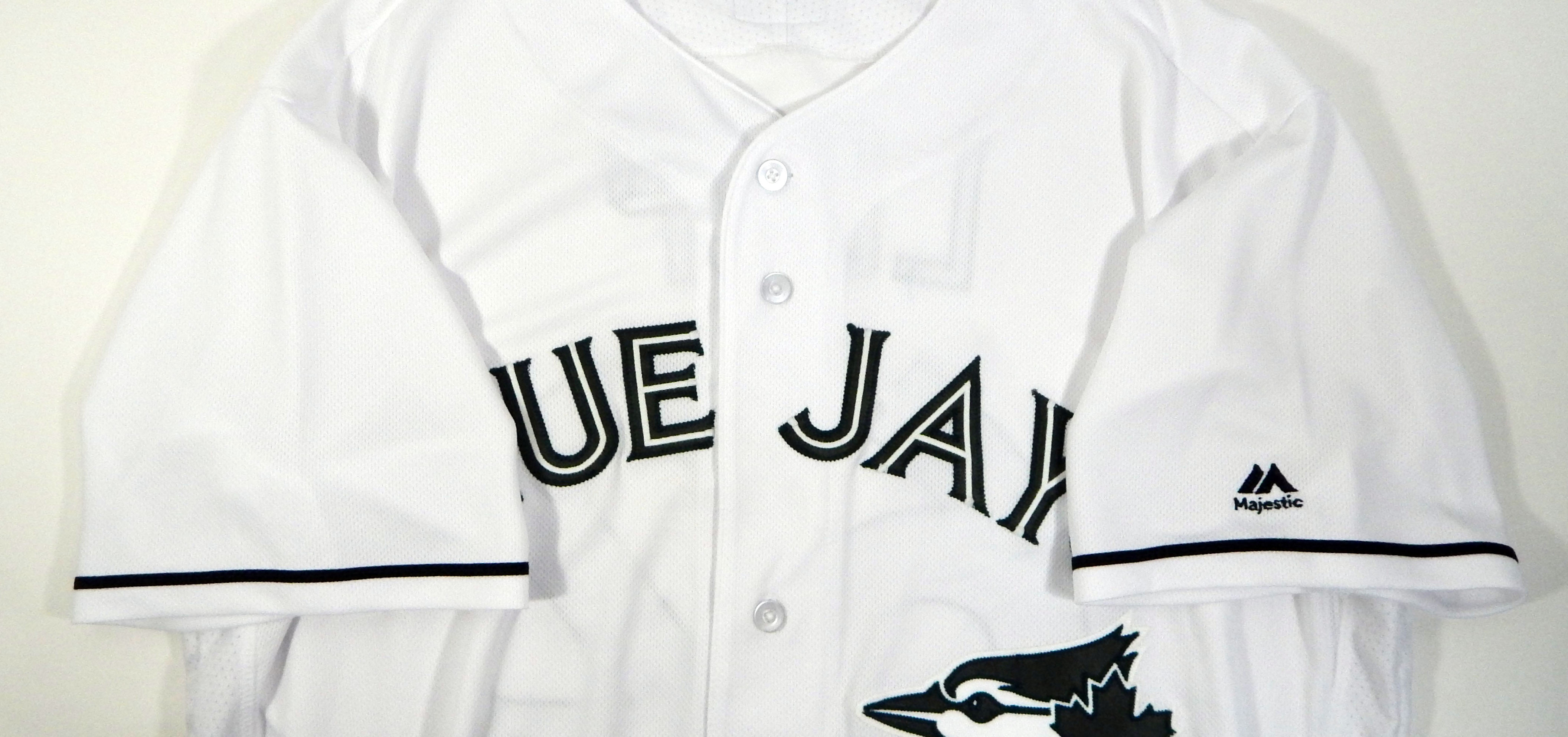 b9cd068ce 2017 Toronto Blue Jays Aaron Loup  62 Game Used White Memorial Day Jersey 3  3 of 7 ...