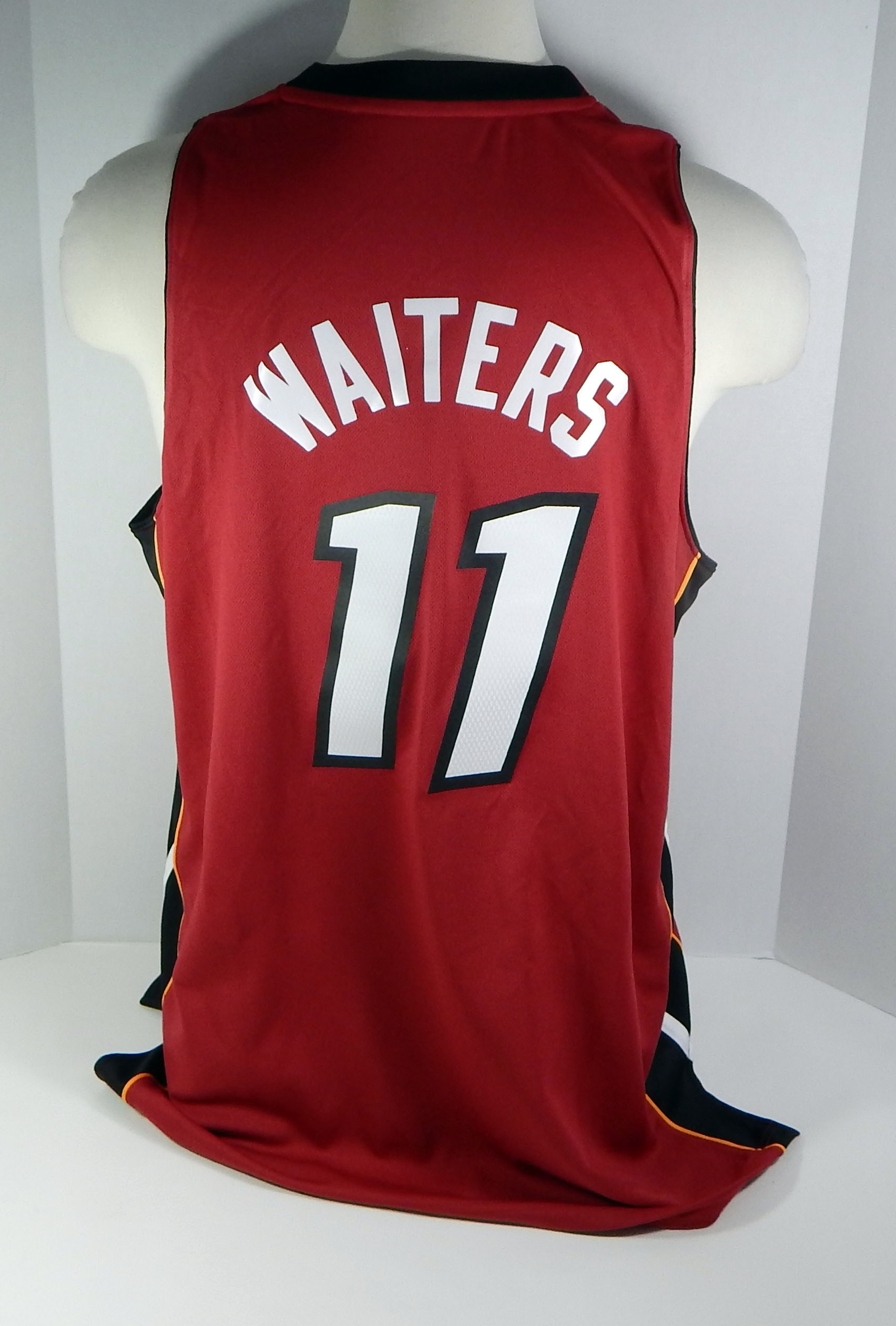 071bf24ef Details about Miami Heat Dion Waiters  11 Replica Red Jersey