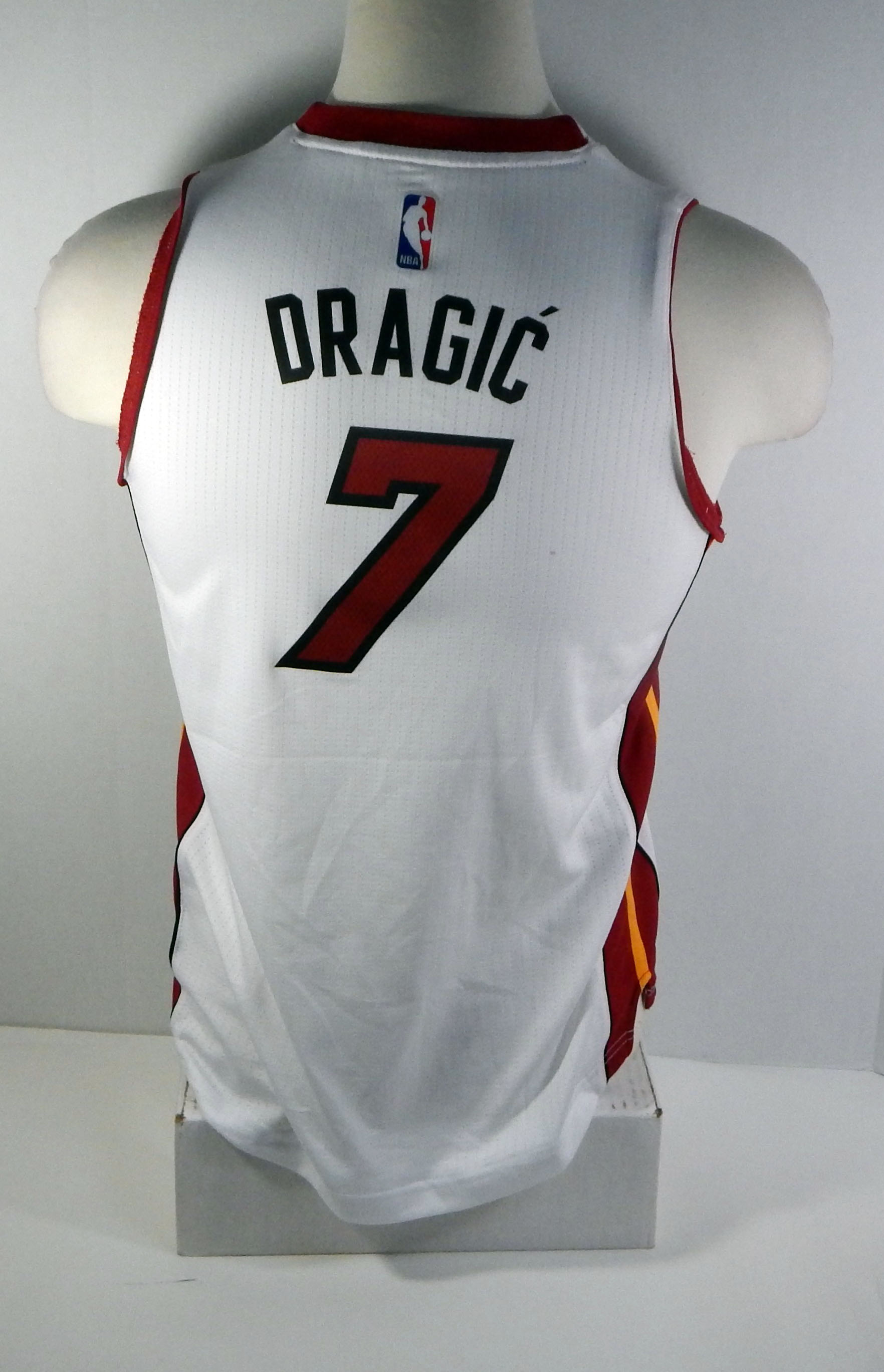 buy popular ff3b1 d0b17 Details about Miami Heat Goran Dragic #7 Replica White Swingman Jersey  HEAT0076