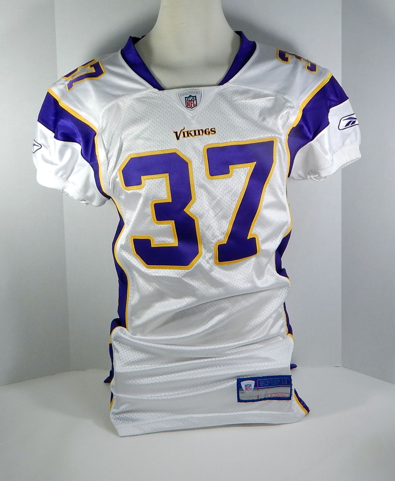 Image is loading 2006-Minnesota-Vikings-37-Game-Issued-White-Jersey- 0792e0648