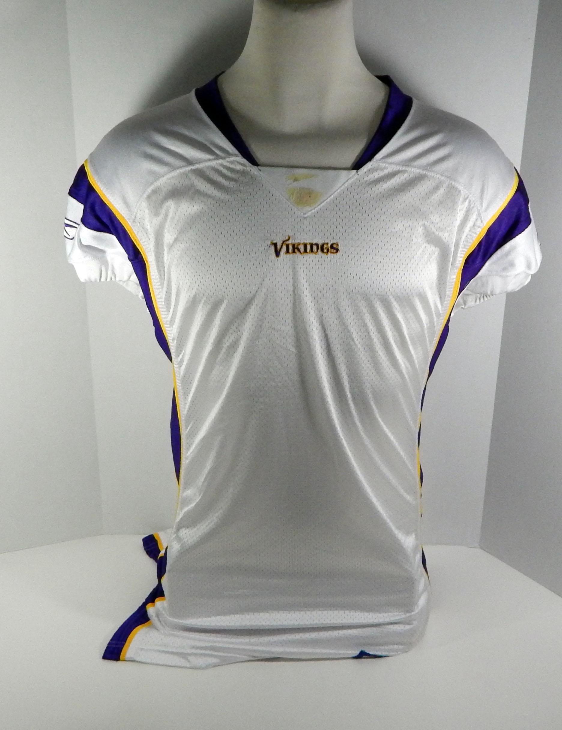2006 Minnesota Vikings Blank # Game Style White Jersey   eBay