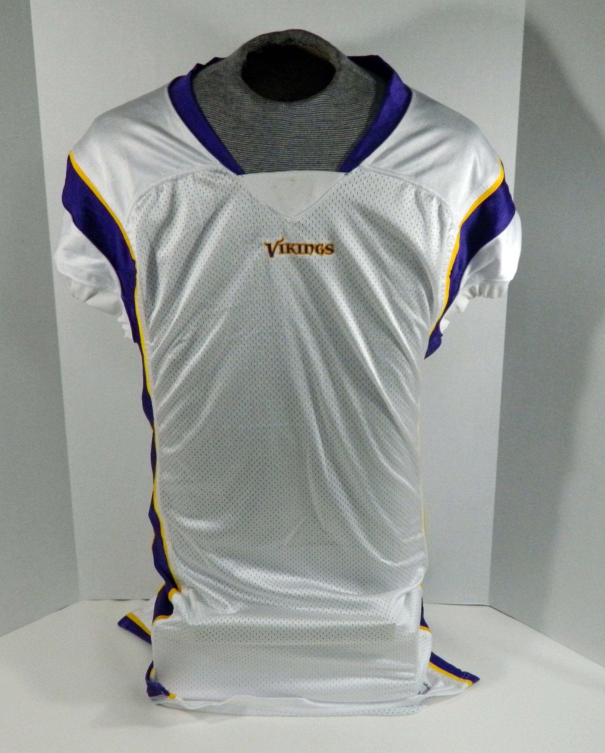 2007 Minnesota Vikings Game Issued White Jersey