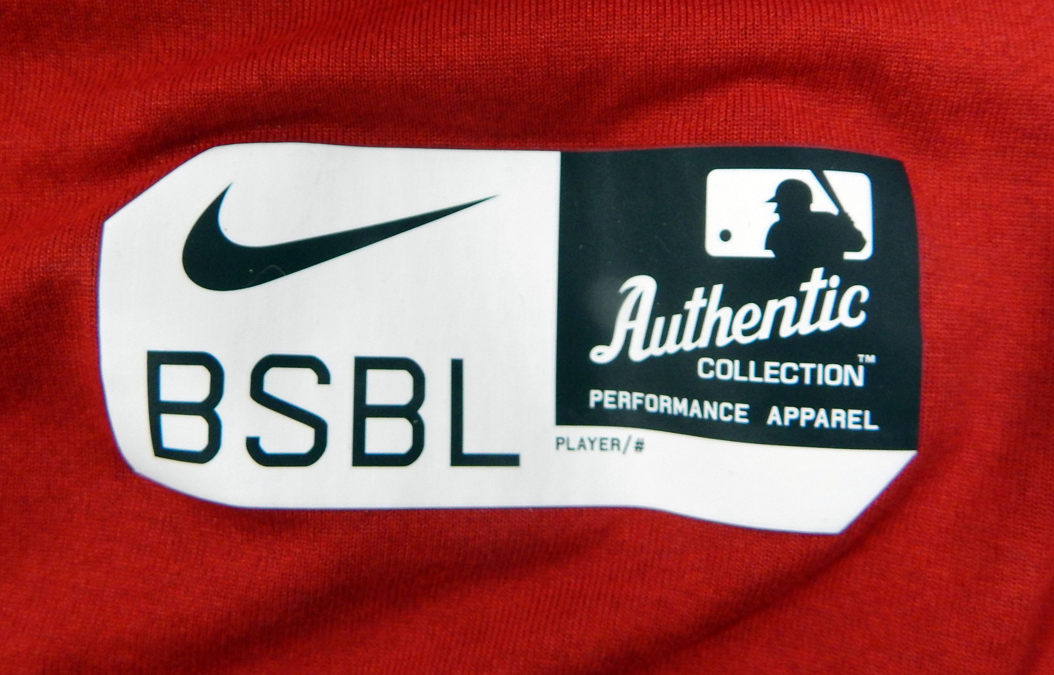 9599d74222b Boston Red Sox  19 Game Used Red Batting Practice T Shirt