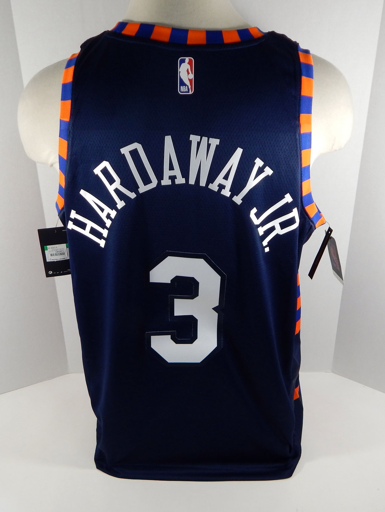 huge selection of 486d8 6ef2d Details about Mens New York Knicks Tim Hardaway #3 Blue Jersey Swingman  City Edition XL NWT