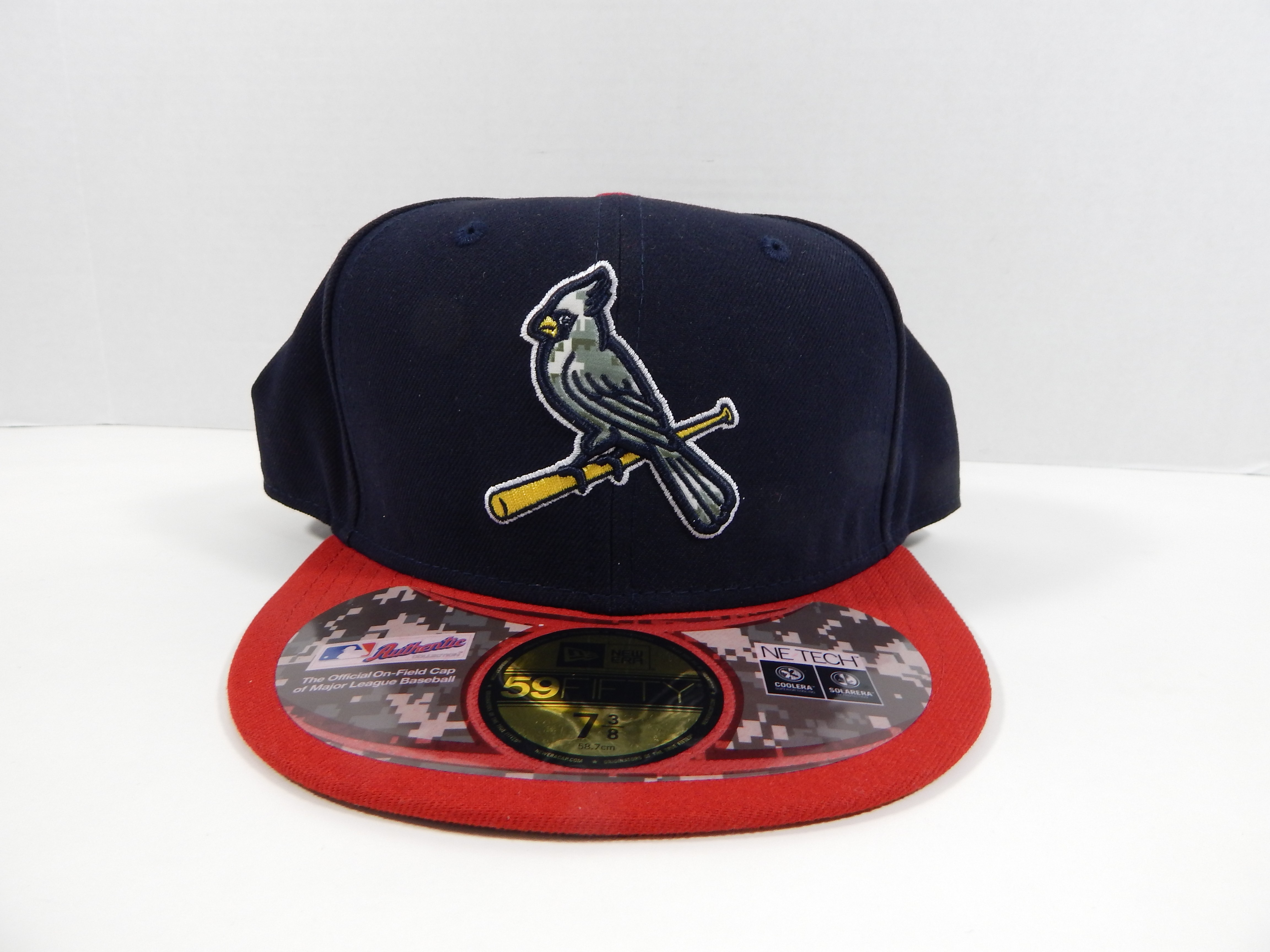 bfcd563161b St. Louis Cardinals Game Issued New Era Navy Red Digital Camo 59FIFTY  Fitted Hat