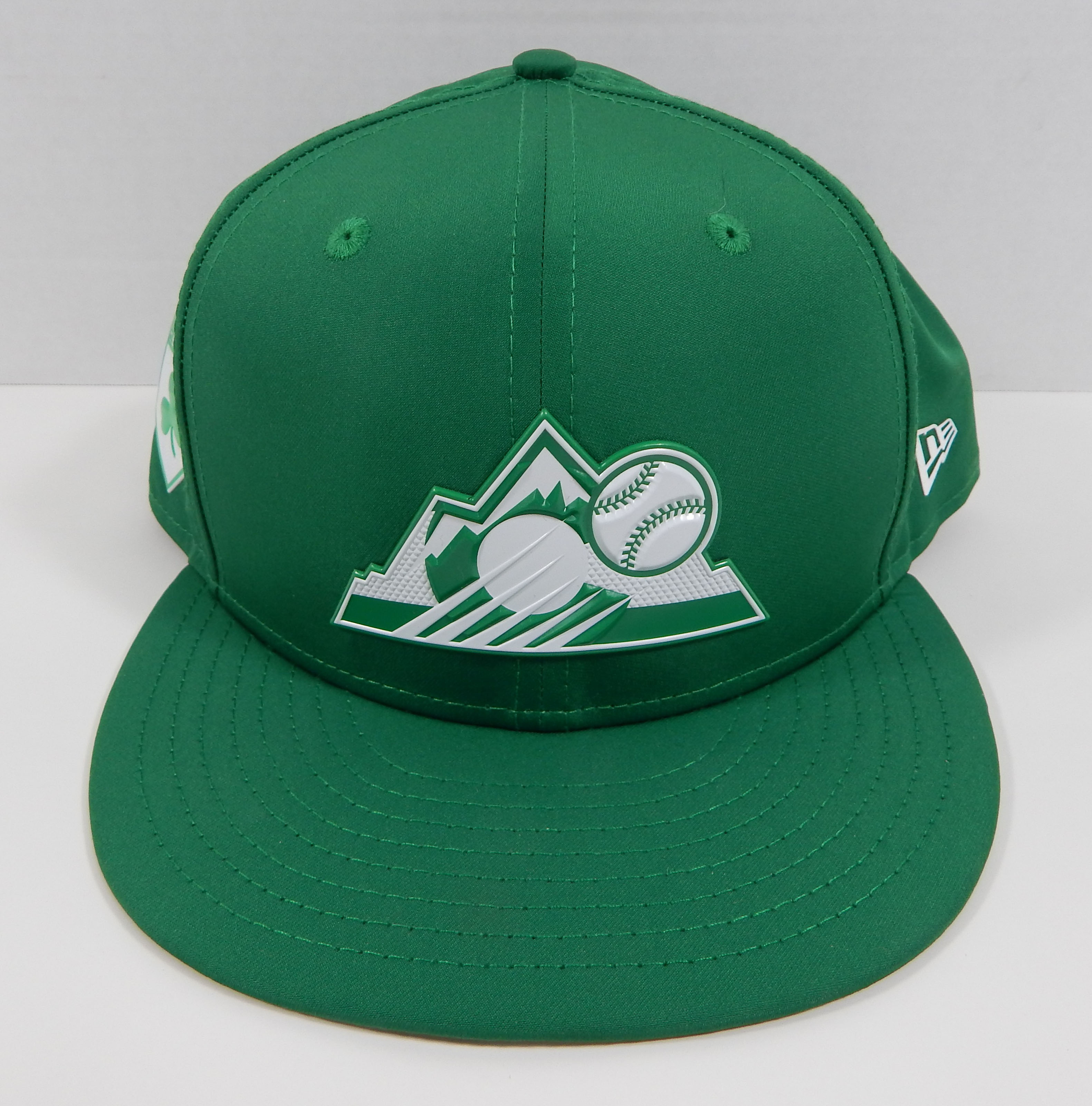pretty nice e6c86 1f341 Details about 2018 Colorado Rockies New Era St. Patrick's Day Spring  Training Green Fitted Hat