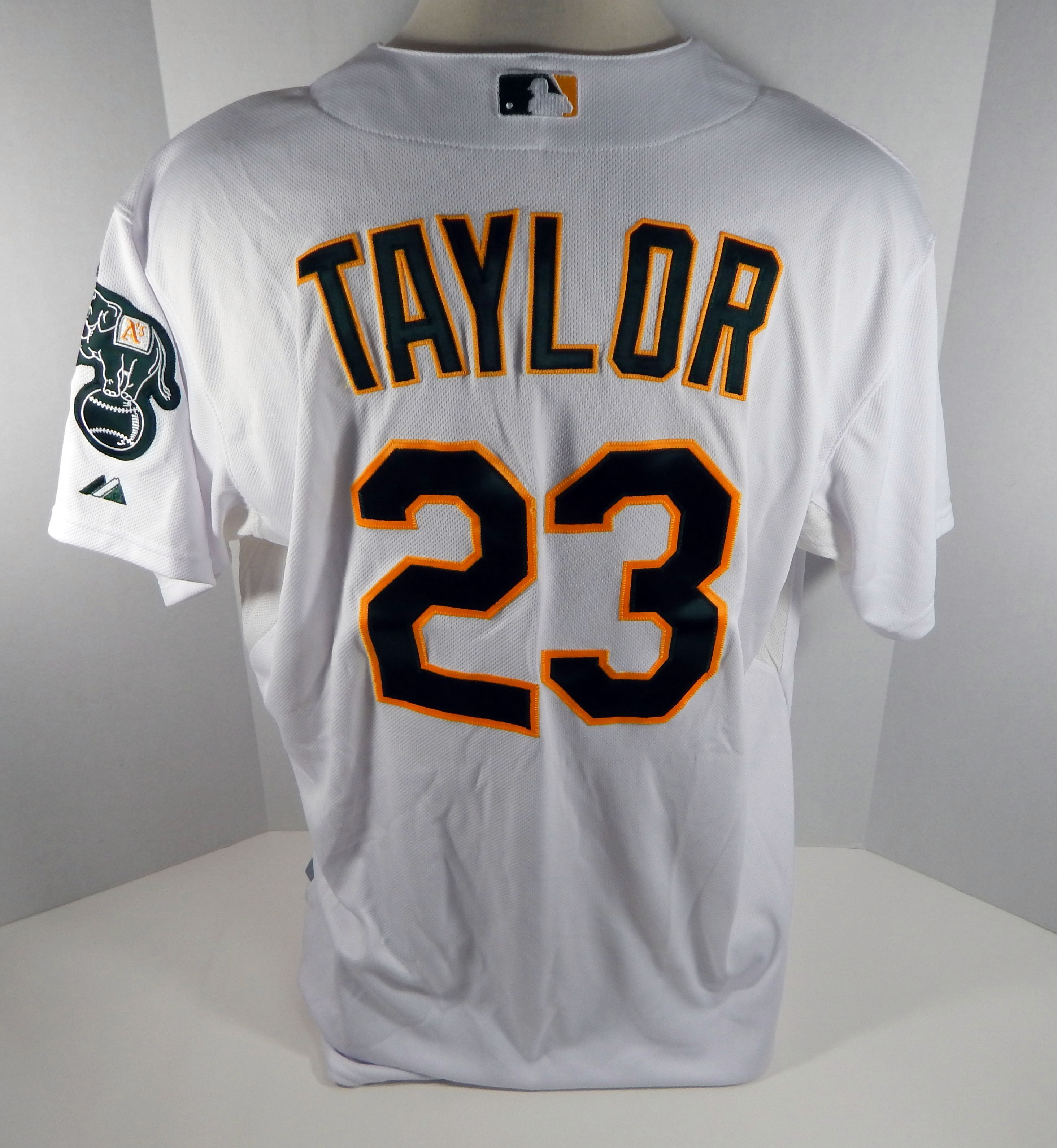2012 Oakland Athletics As Michael Taylor #23 Game Issued White ...