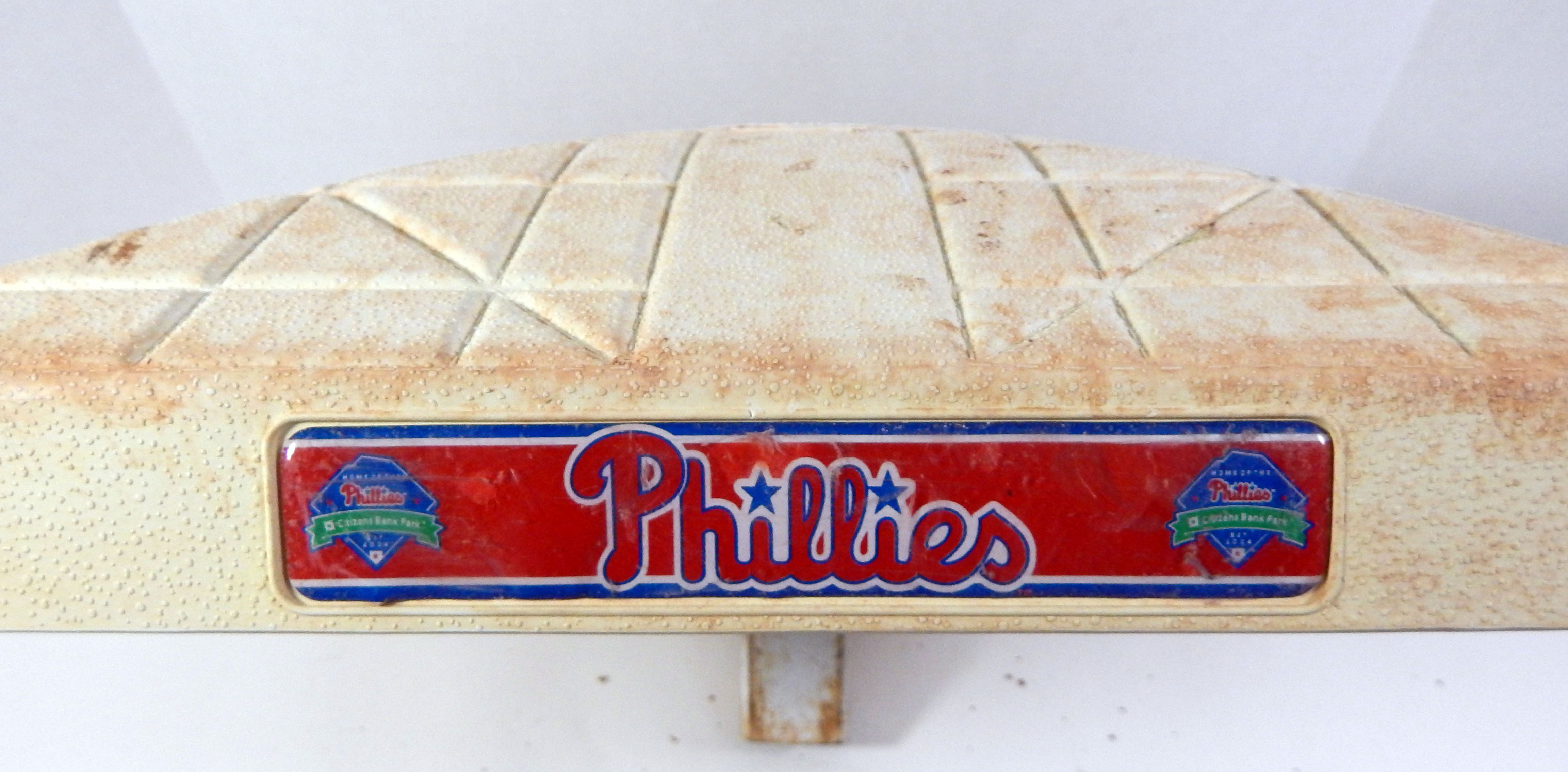 9bd9b2d572ce 2017   2018 Philadelphia Phillies Game Used Based Used During Six Games 2 2  of 6 ...