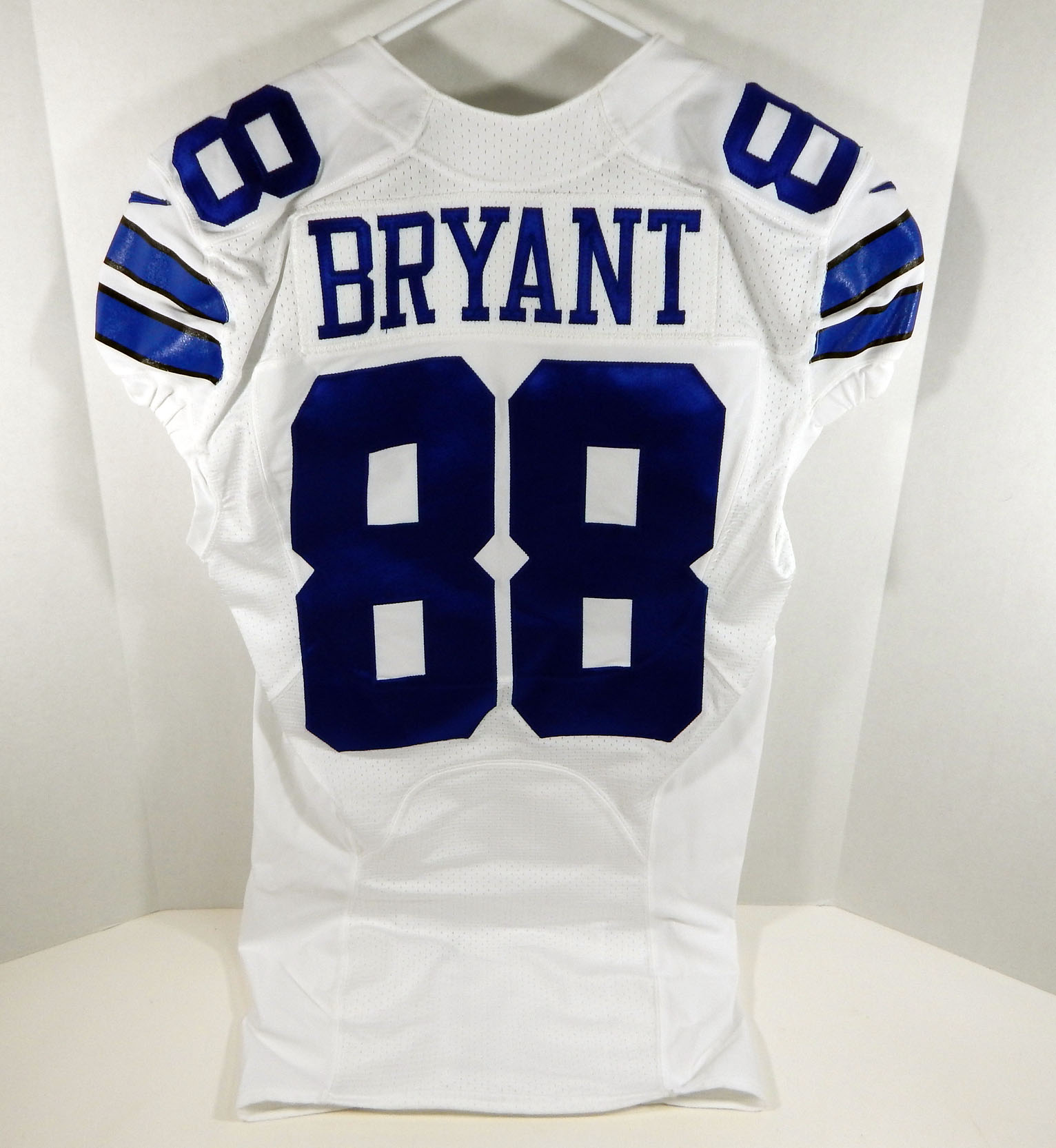 Details About 2015 Dallas Cowboys Dez Bryant 88 Game Issued White Jersey Dal00249