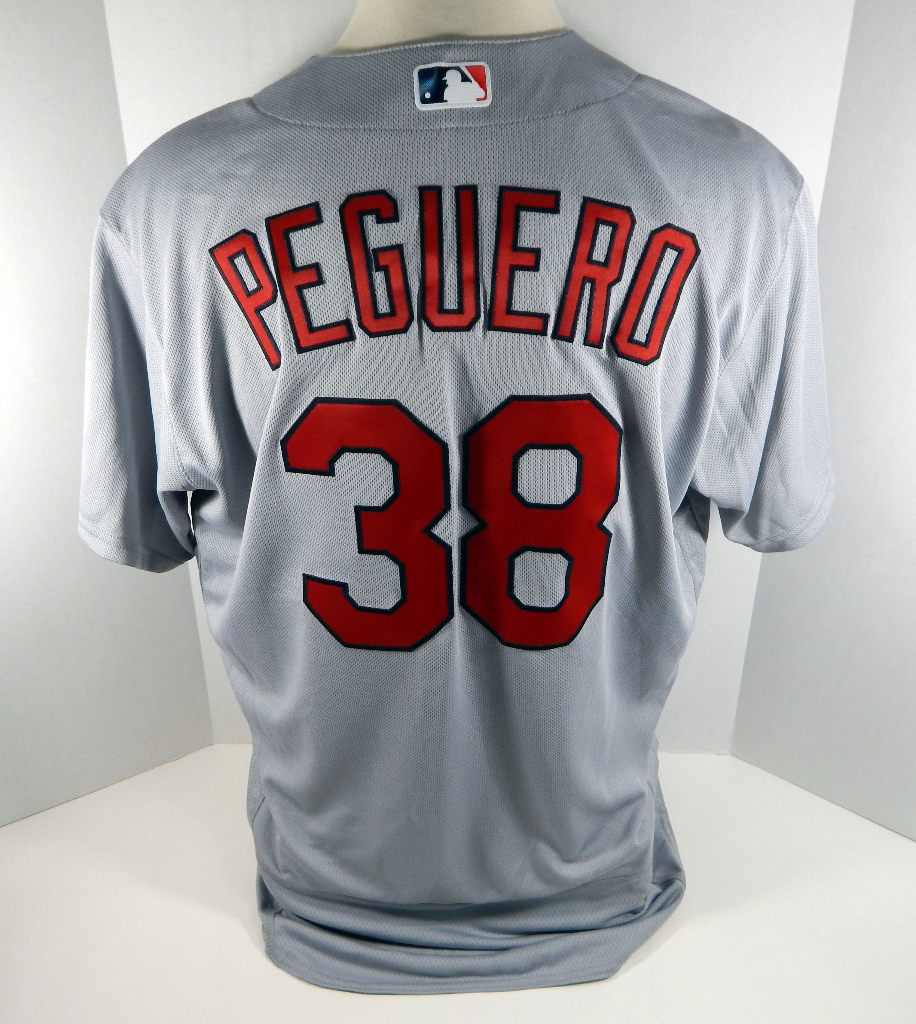 lower price with 54a02 0fa74 Details about 2016 St. Louis Cardinals Carlos Peguero #38 Game Issued Grey  Jersey