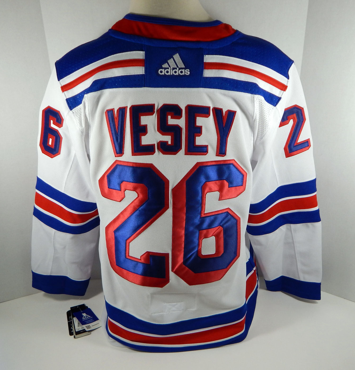 Mens New York Rangers Jimmy Vesey #26 Authentic Adidas Pro White ...