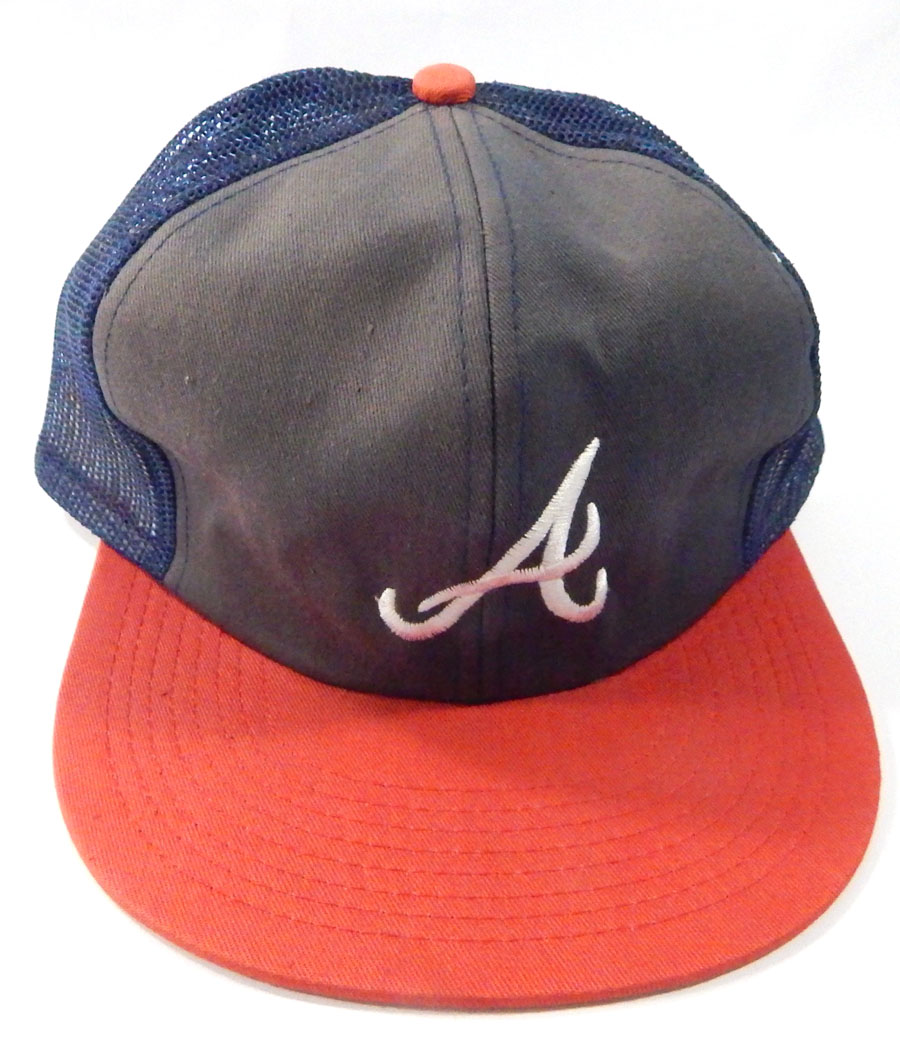e2dfb1da30c4e ... reduced atlanta braves retro snapback cap hat twins enterprise size m l  navy red d4e42 408dc